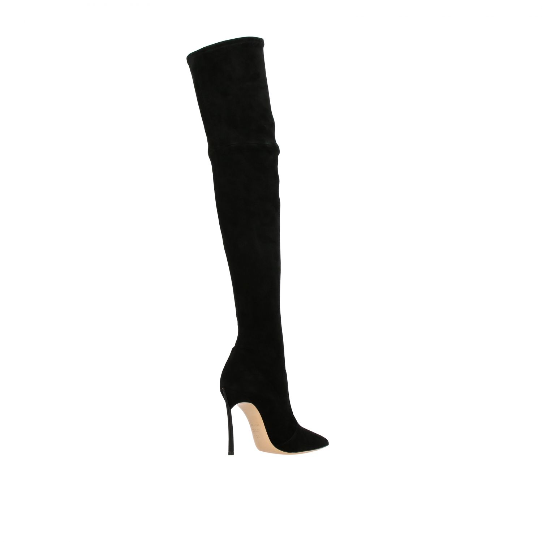 Boots women Casadei black 4