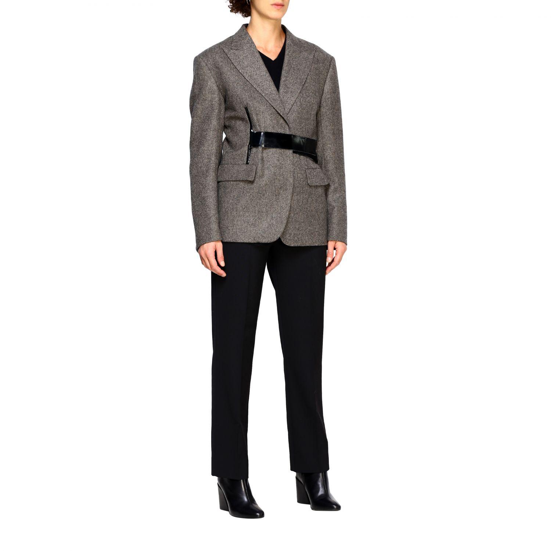 Pantalone donna Maison Margiela nero 2