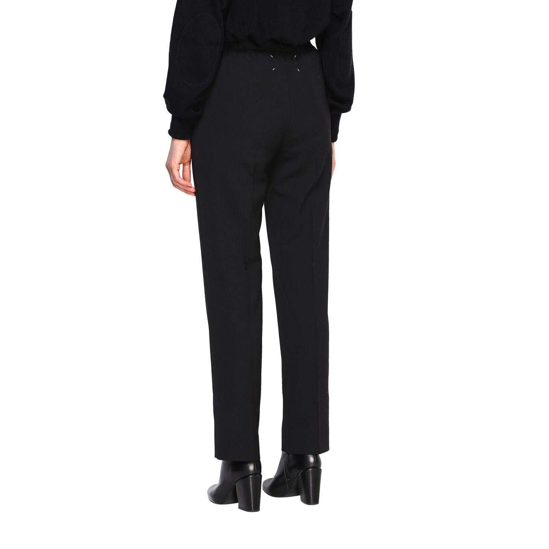 Pantalone donna Maison Margiela nero 3