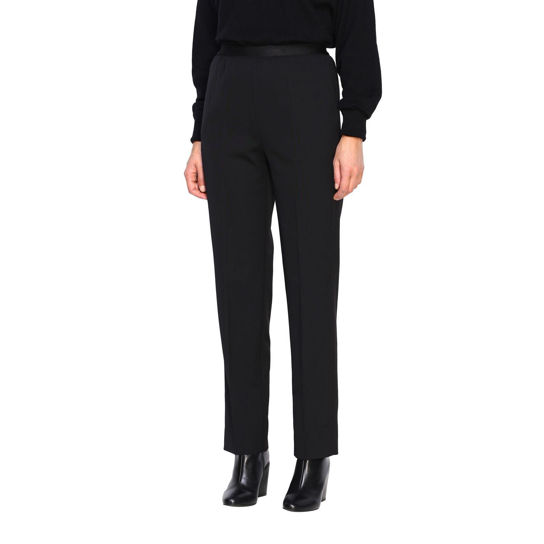 Pantalone donna Maison Margiela nero 4