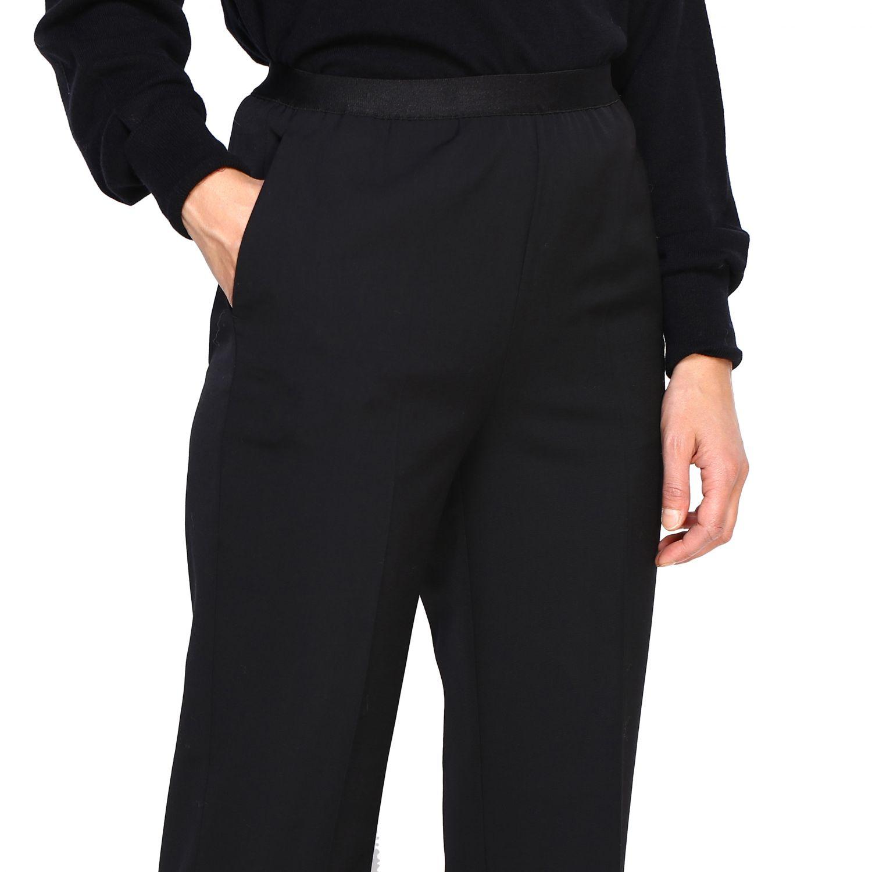 Pantalone donna Maison Margiela nero 5