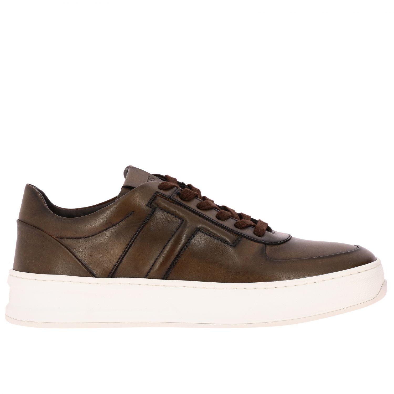 Schuhe herren Tod's kakao 1