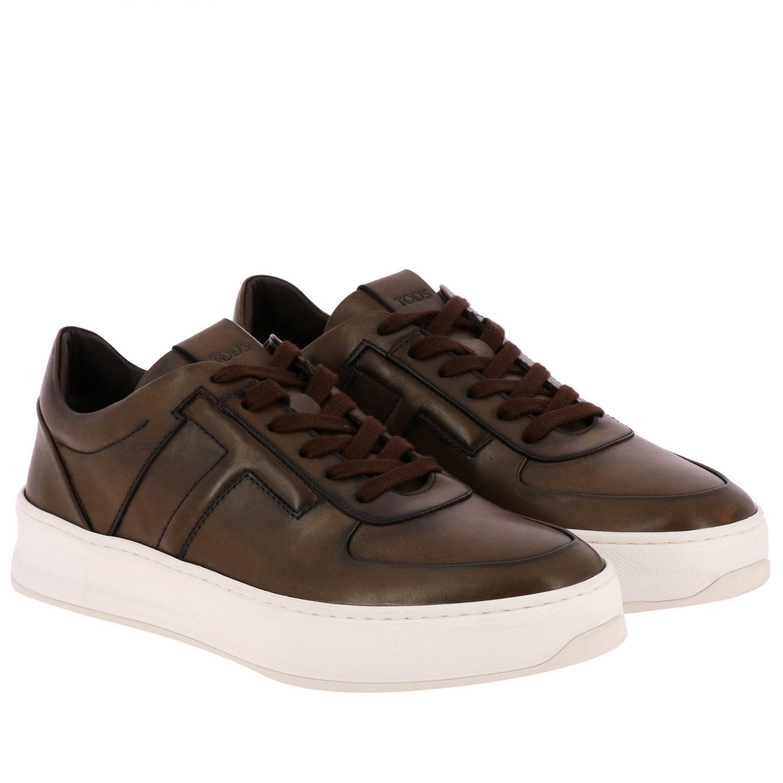 Schuhe herren Tod's kakao 2