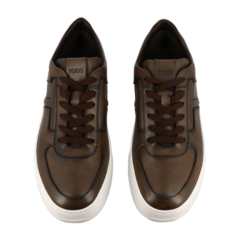 Schuhe herren Tod's kakao 3