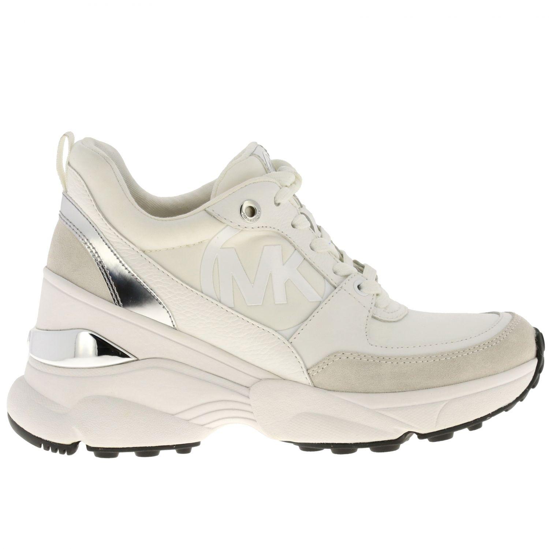 Sneakers Michael Michael Kors: Sneakers donna Michael Michael Kors bianco 1