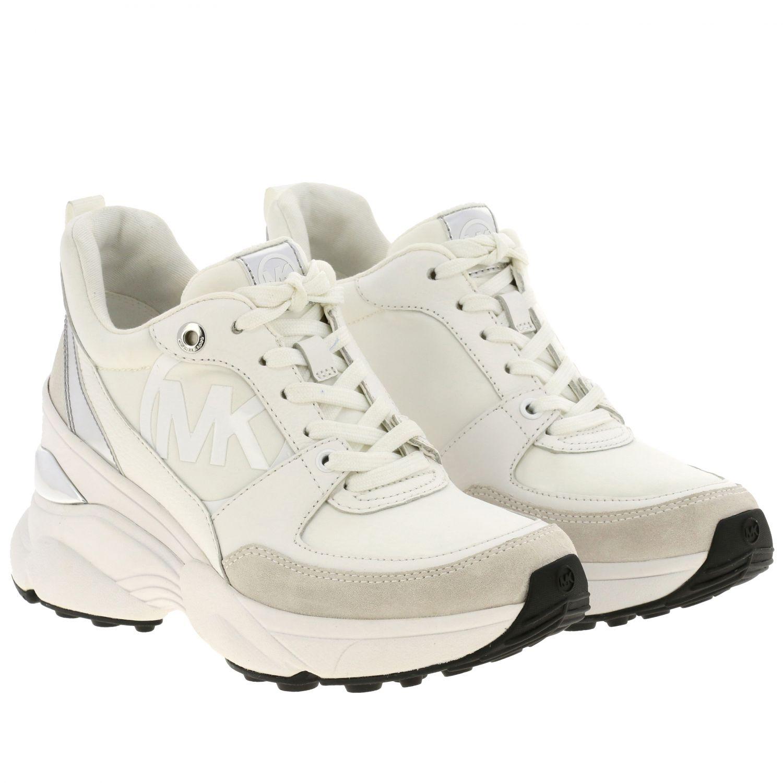 Sneakers Michael Michael Kors: Sneakers donna Michael Michael Kors bianco 2