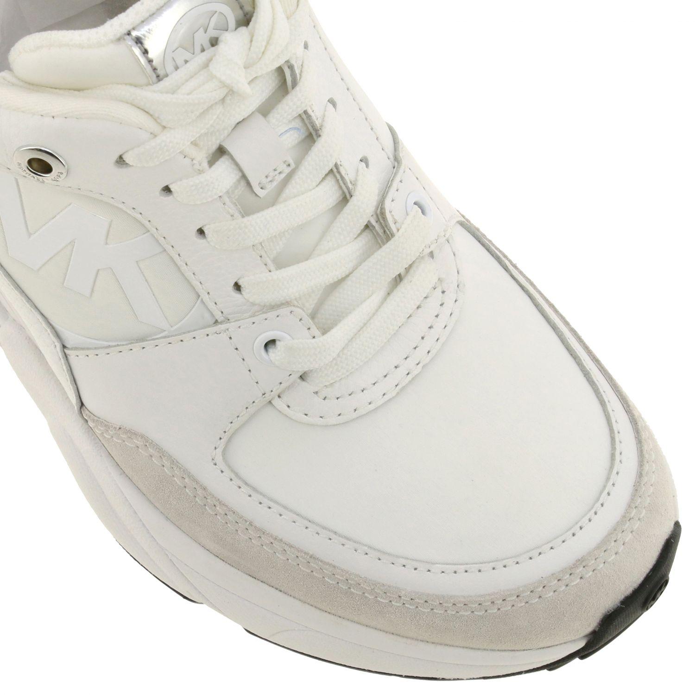 Sneakers Michael Michael Kors: Sneakers donna Michael Michael Kors bianco 4