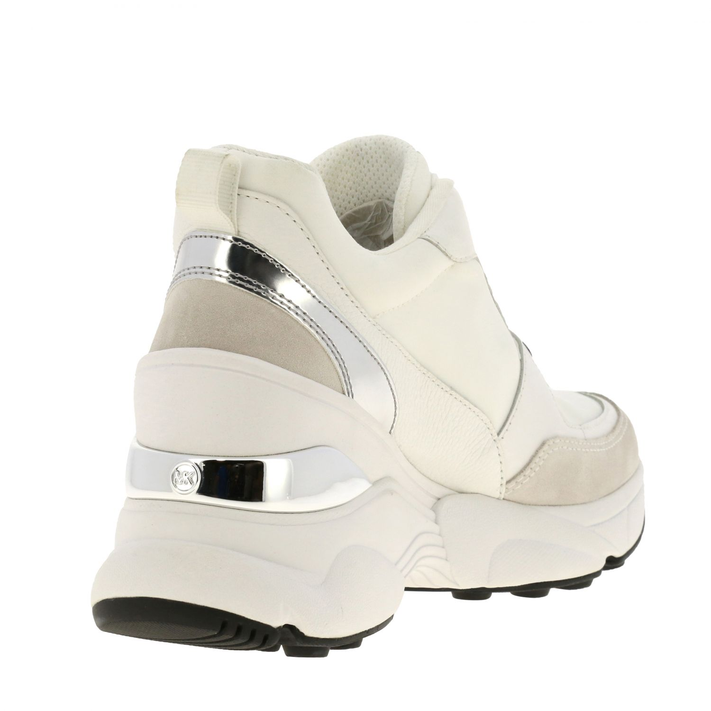Sneakers Michael Michael Kors: Sneakers donna Michael Michael Kors bianco 5