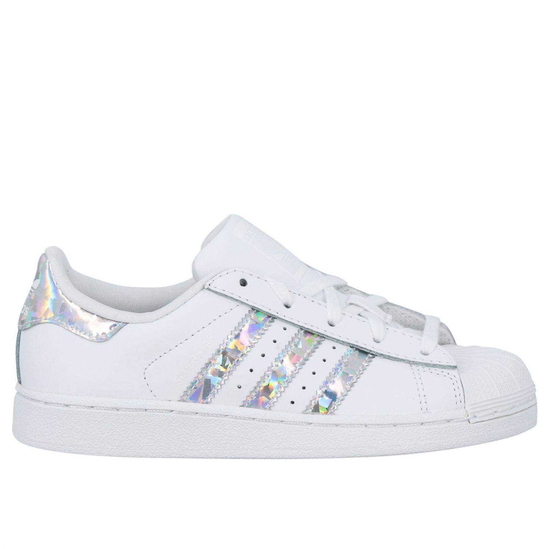 Zapatos niños Adidas Originals blanco 1