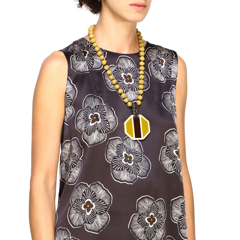 Gioielli Maliparmi: Collana Maliparmi pendente panna 1
