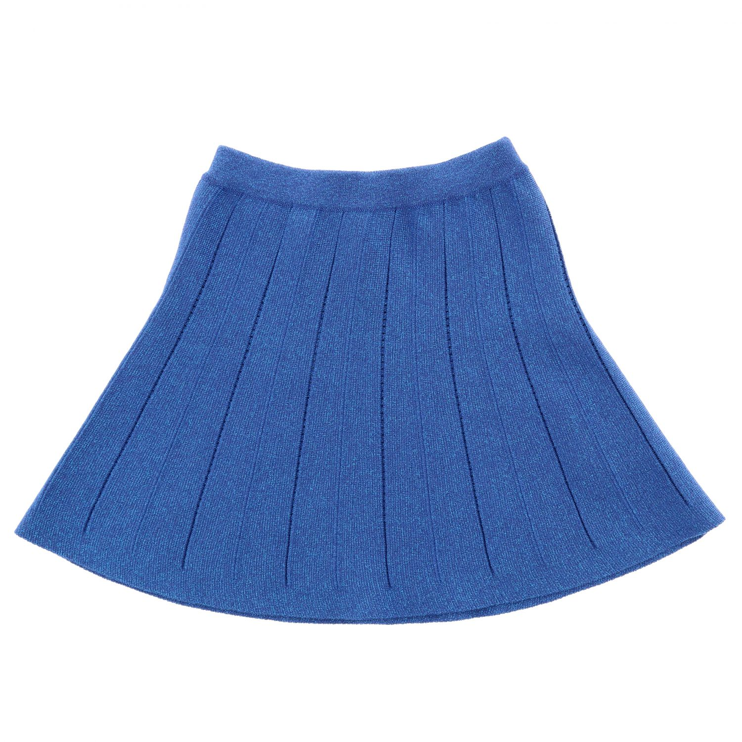 Skirt Alberta Ferretti Junior: Skirt kids Alberta Ferretti Junior gnawed blue 1