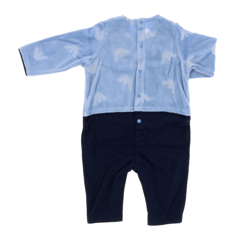Tracksuit kids Emporio Armani gnawed blue 2
