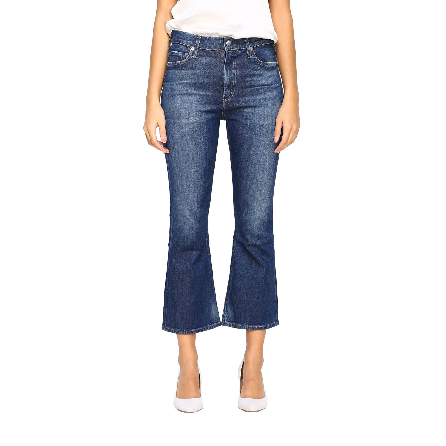 Jeans Citizens Of Humanity: Jeans femme Citizens Of Humanity bleu 1