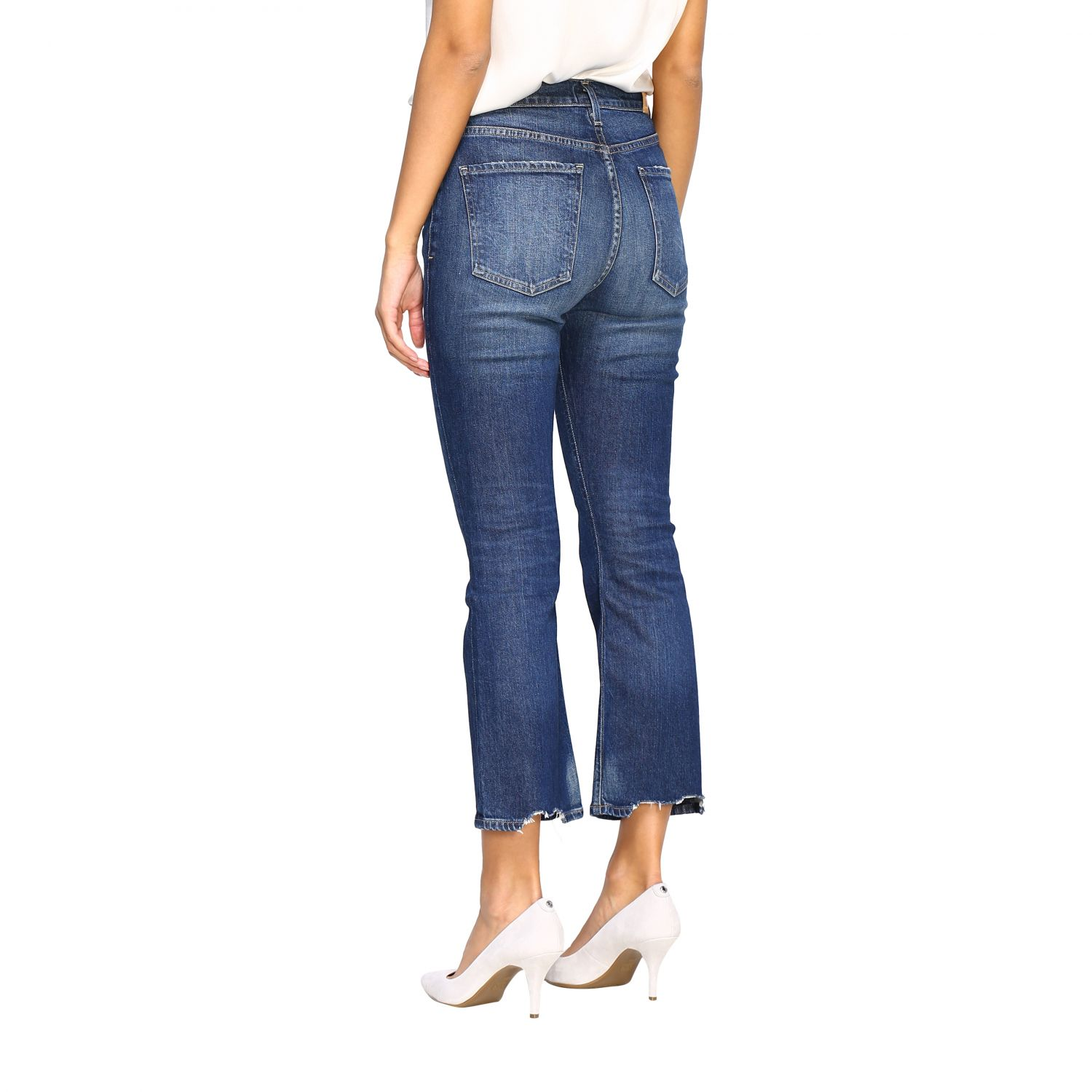 Jeans Citizens Of Humanity: Jeans femme Citizens Of Humanity bleu 3