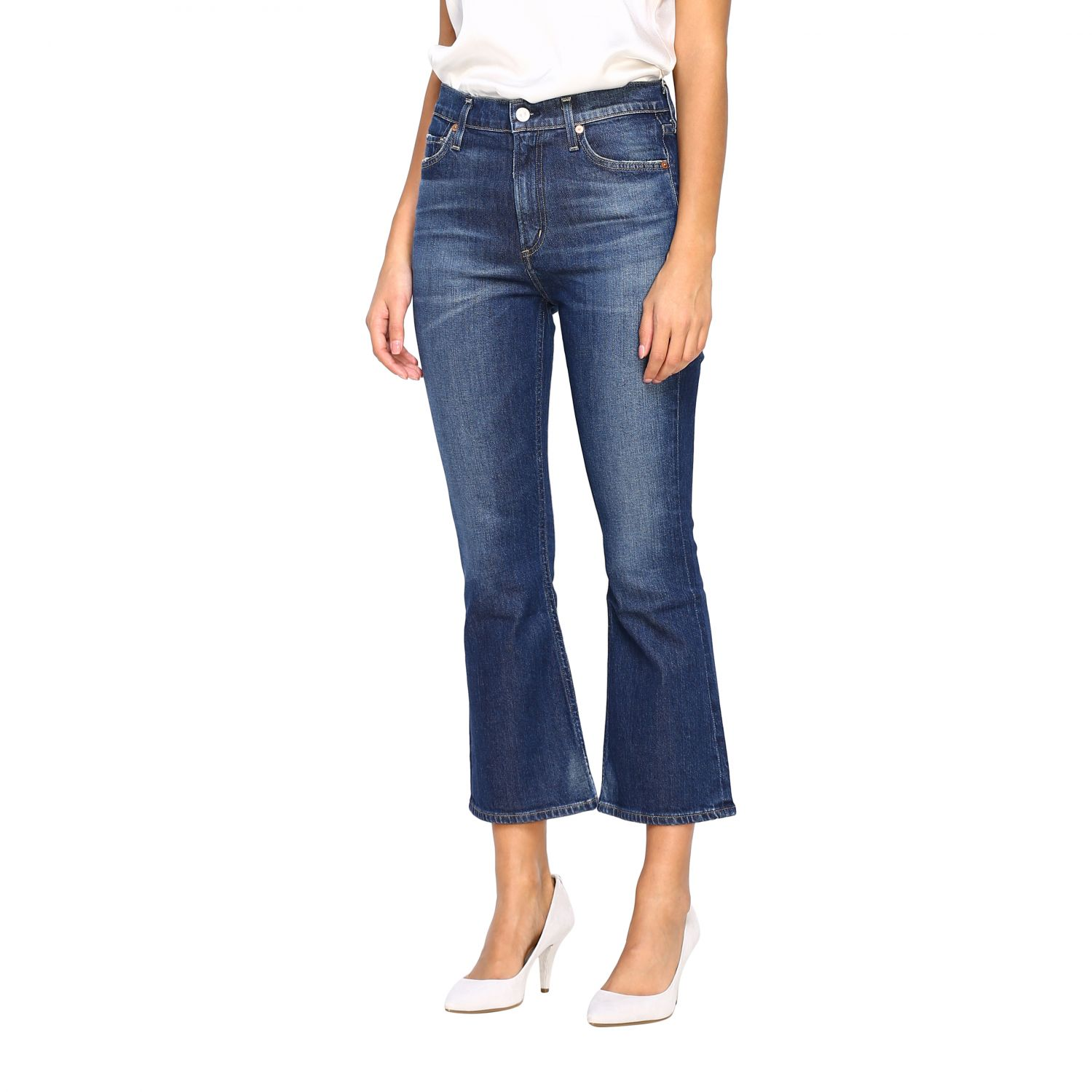 Jeans Citizens Of Humanity: Jeans femme Citizens Of Humanity bleu 4