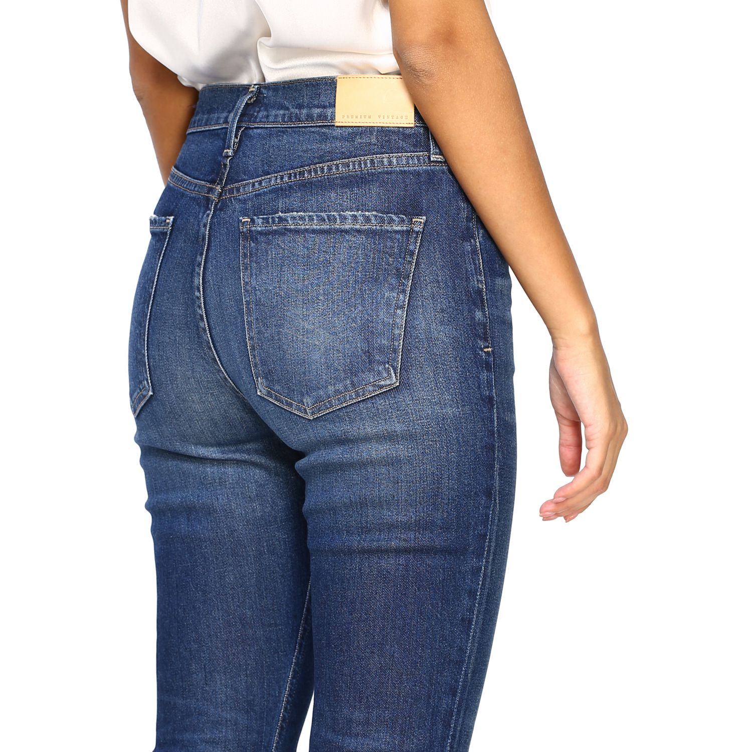 Jeans Citizens Of Humanity: Jeans femme Citizens Of Humanity bleu 5