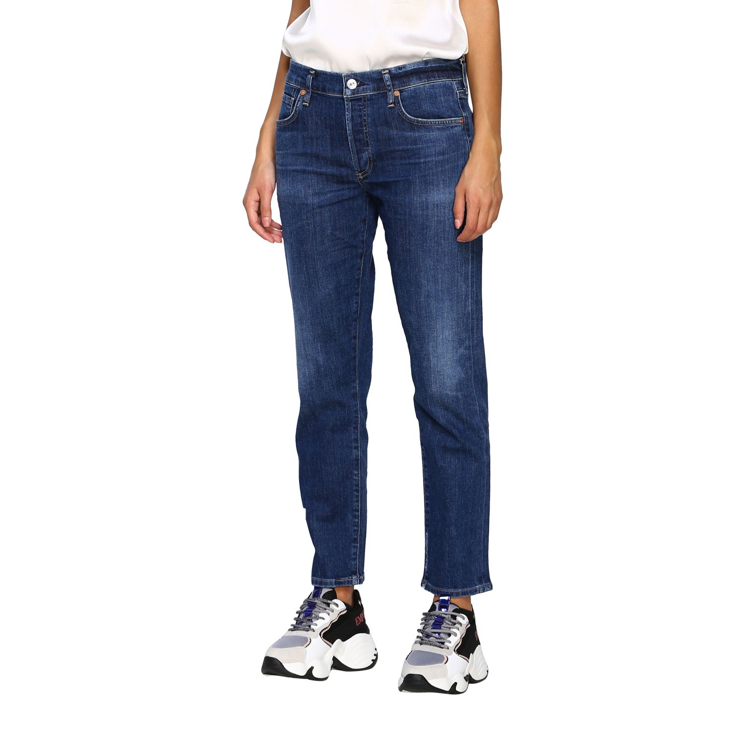 Jeans femme Citizens Of Humanity bleu 4
