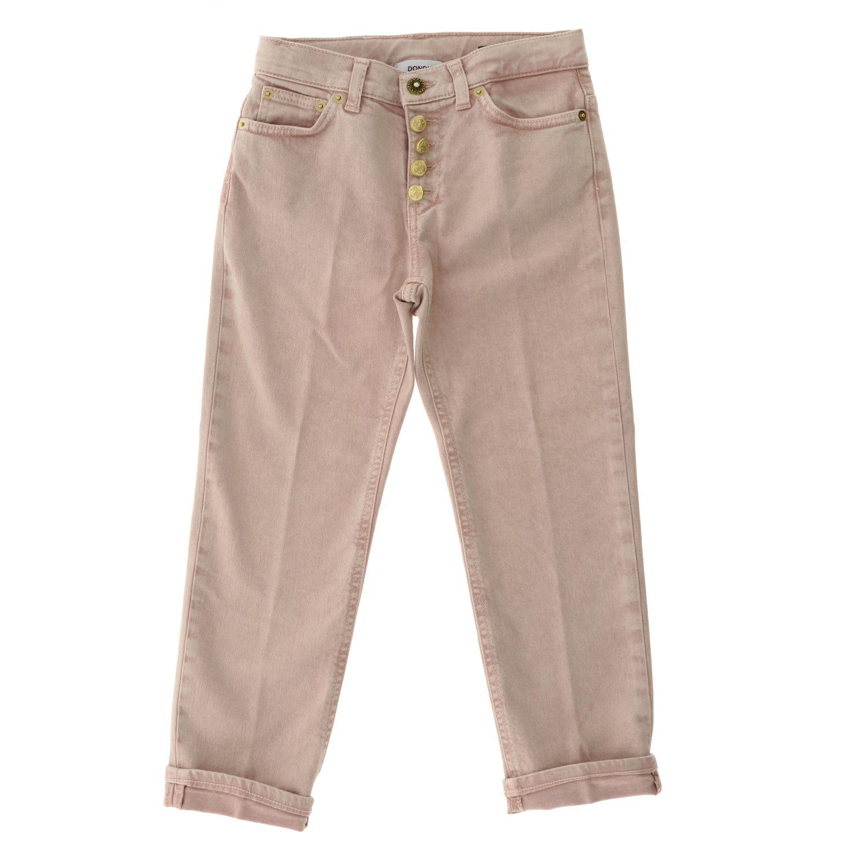 Pantalone Dondup: Pantalone bambino Dondup rosa 1