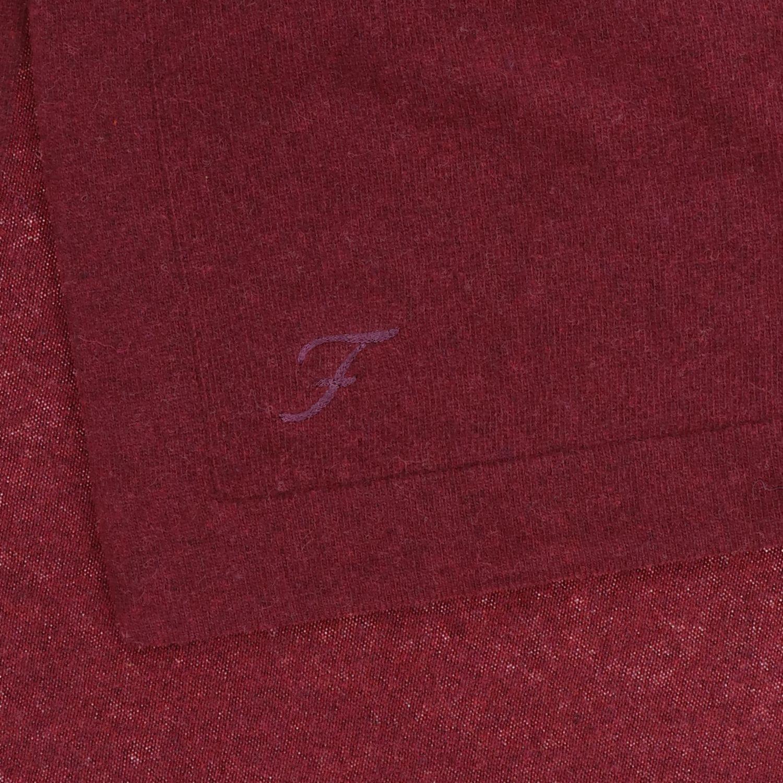 Sciarpa Fay con logo bordeaux 3