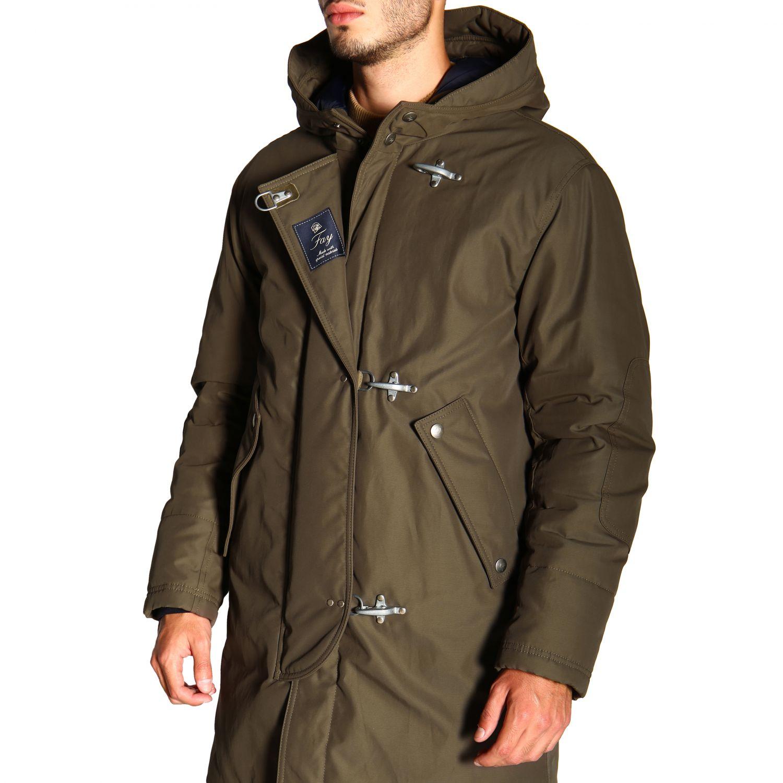 Jacket men Fay military 5