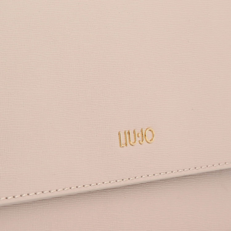 Borsa mini Liu Jo: Borsa a tracolla con logo metallico nudo 4
