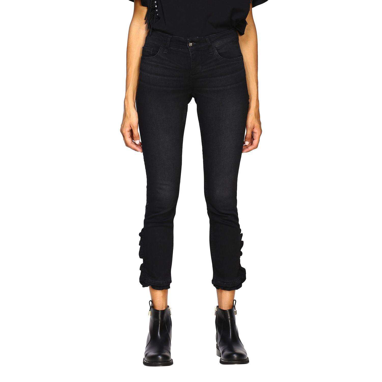 Jeans Liu Jo: Pantalón mujer Liu Jo negro 1