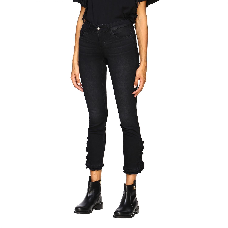 Jeans Liu Jo: Pantalón mujer Liu Jo negro 4