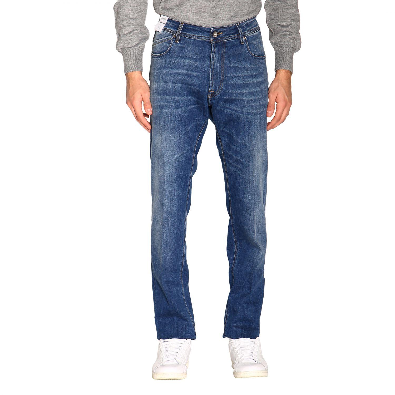 Pants men Re-hash blue 1