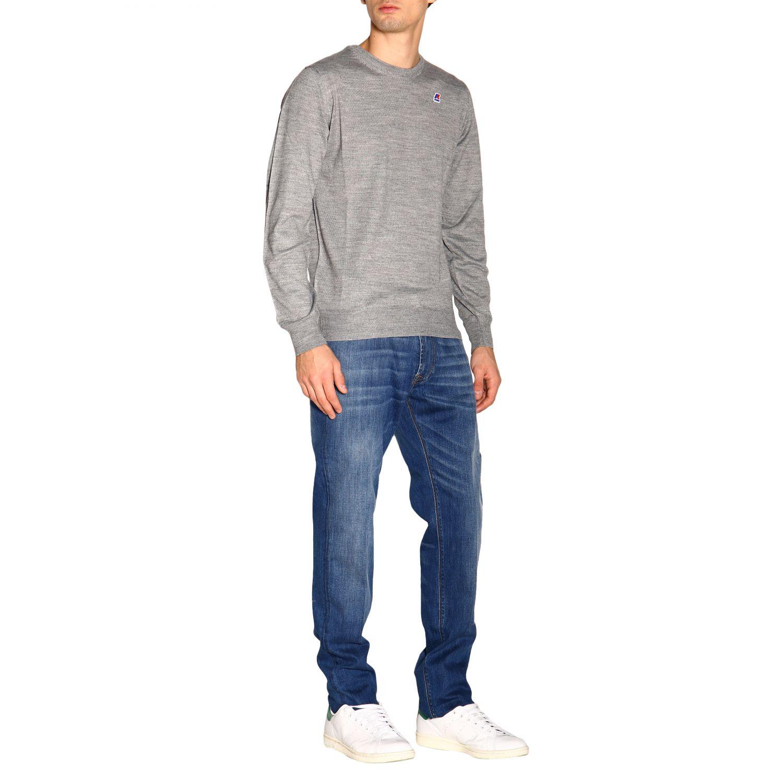 Pants men Re-hash blue 2
