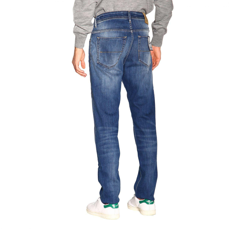 Pants men Re-hash blue 3