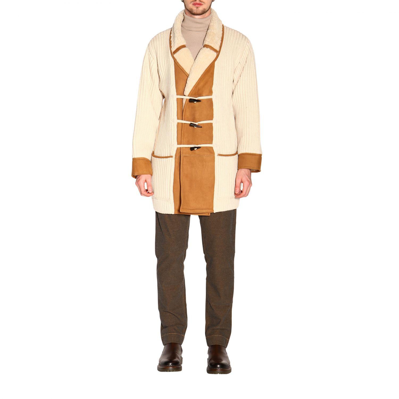 Пальто Alanui: Пальто Мужское Alanui белый 1