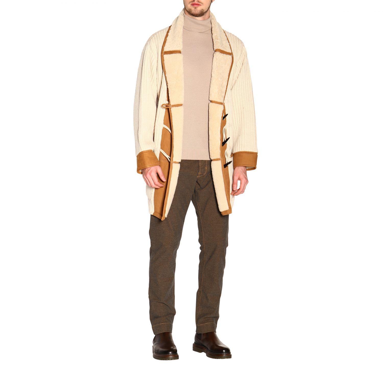 Пальто Alanui: Пальто Мужское Alanui белый 2