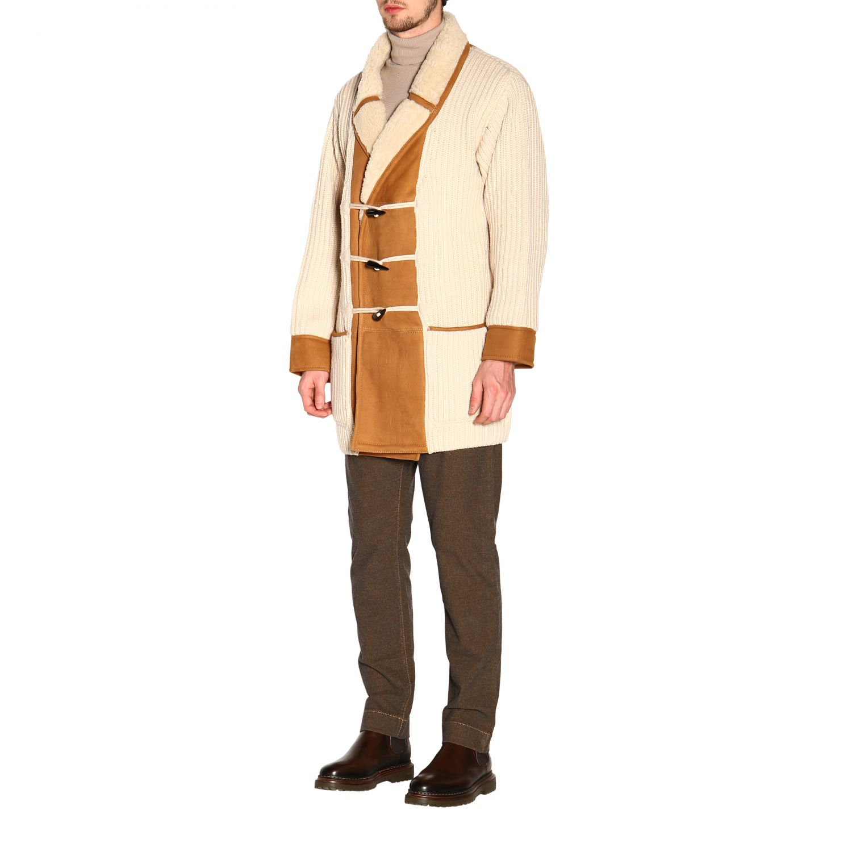Пальто Alanui: Пальто Мужское Alanui белый 4