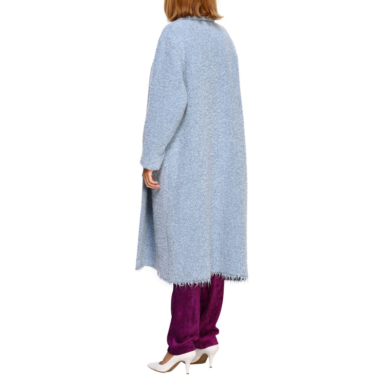 Cappotto donna Isabel Marant Etoile azzurro 3