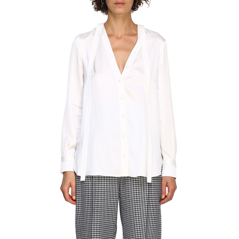 Shirt Alexander Mcqueen: Shirt women Alexander Mcqueen white 1