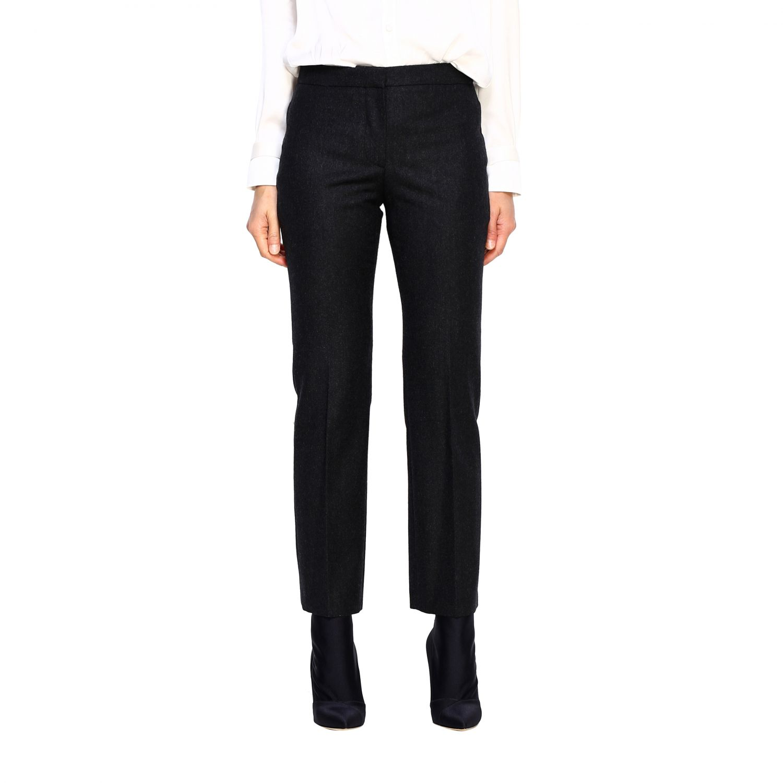 Pants Alexander Mcqueen: Pants women Alexander Mcqueen grey 1
