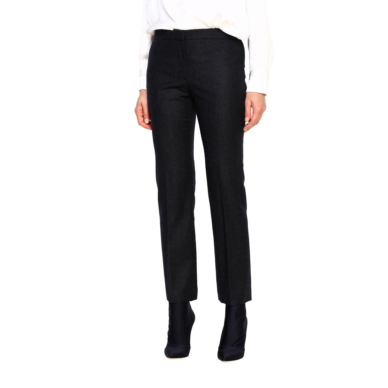 Pants Alexander Mcqueen: Pants women Alexander Mcqueen grey 4