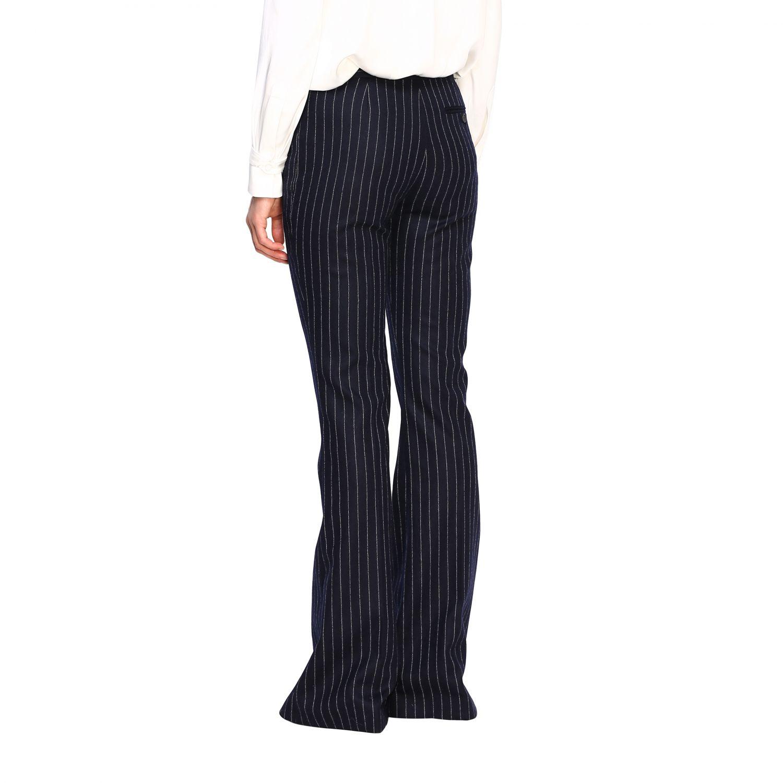 Pantalón mujer Alexander Mcqueen azul oscuro 3
