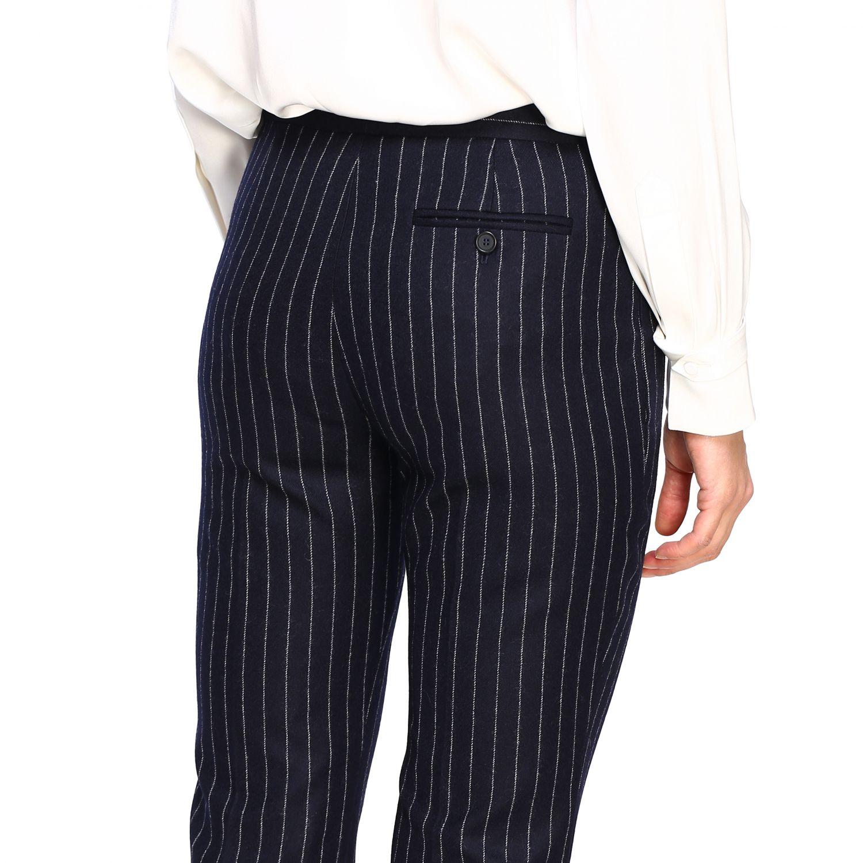 Pantalón mujer Alexander Mcqueen azul oscuro 5
