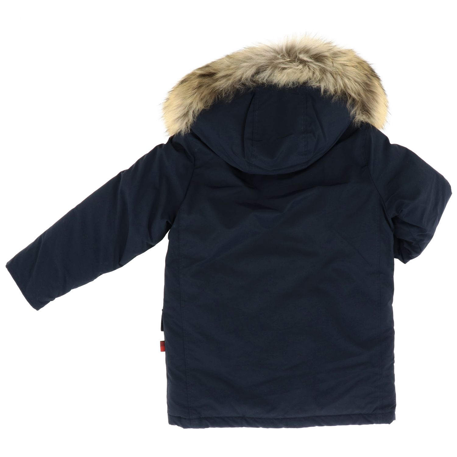 Cappotto Woolrich: Cappotto bambino Woolrich blue 2