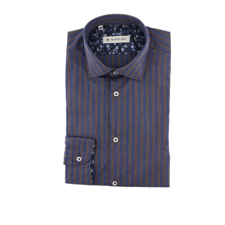 Shirt men Manuel Ritz multicolor 1