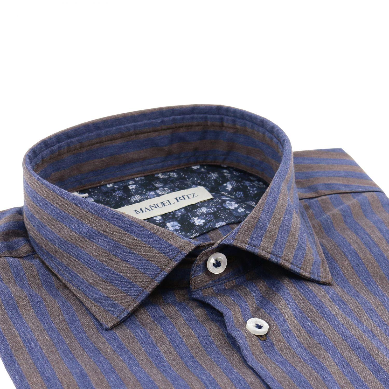 Shirt men Manuel Ritz multicolor 2