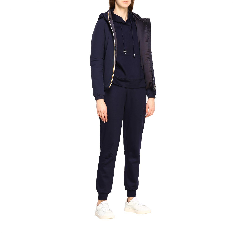 Jacket women K-way blue 1 2