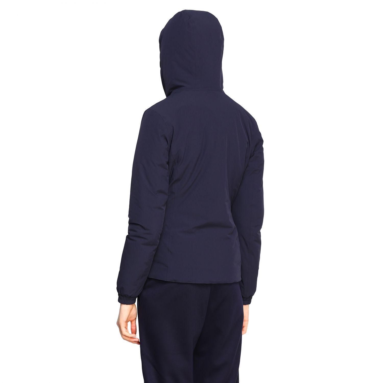 Jacket women K-way blue 1 3