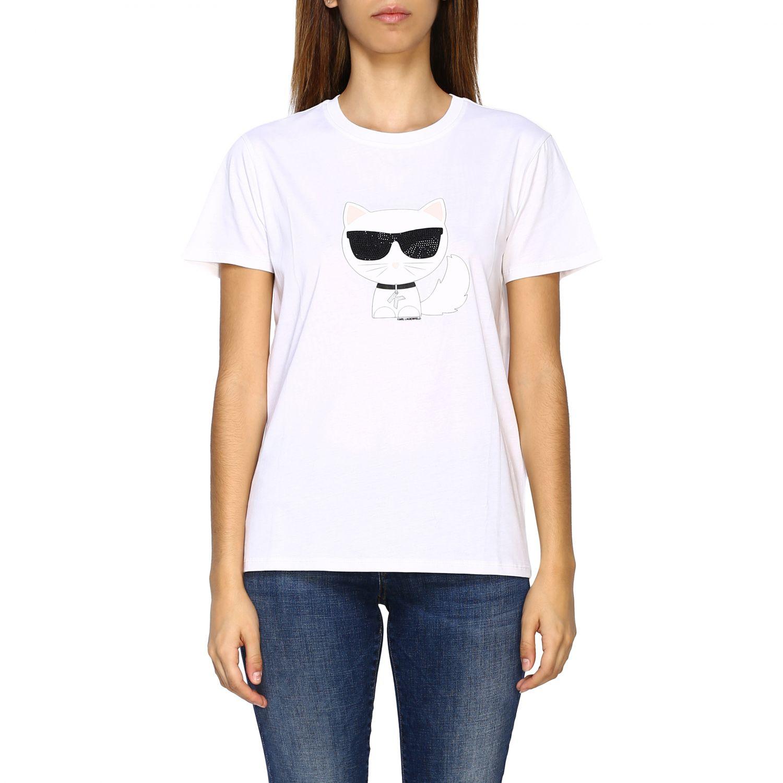 Vestido mujer Karl Lagerfeld blanco 1