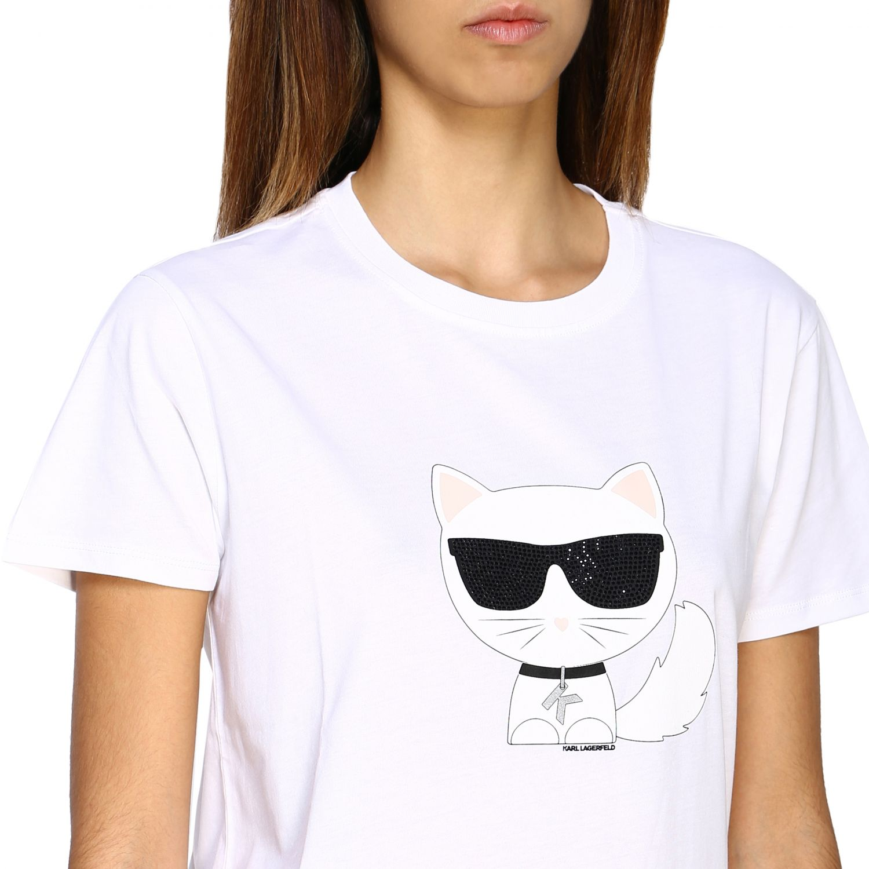 Vestido mujer Karl Lagerfeld blanco 5