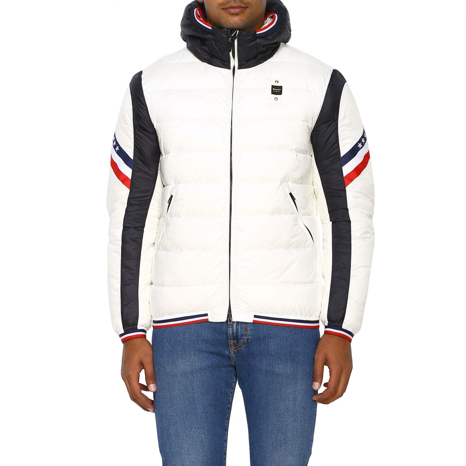 Jacket men Blauer white 1