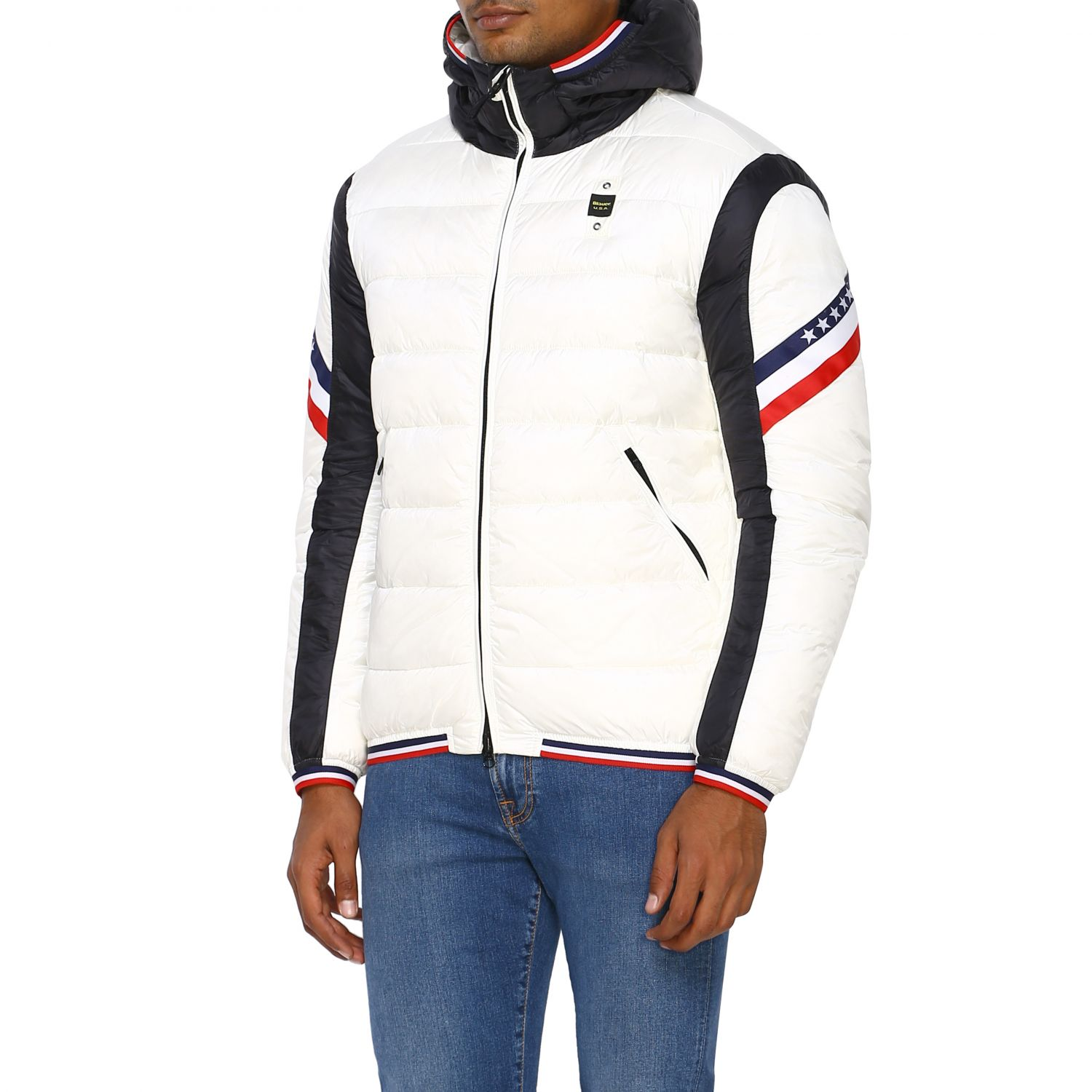 Jacket men Blauer white 4