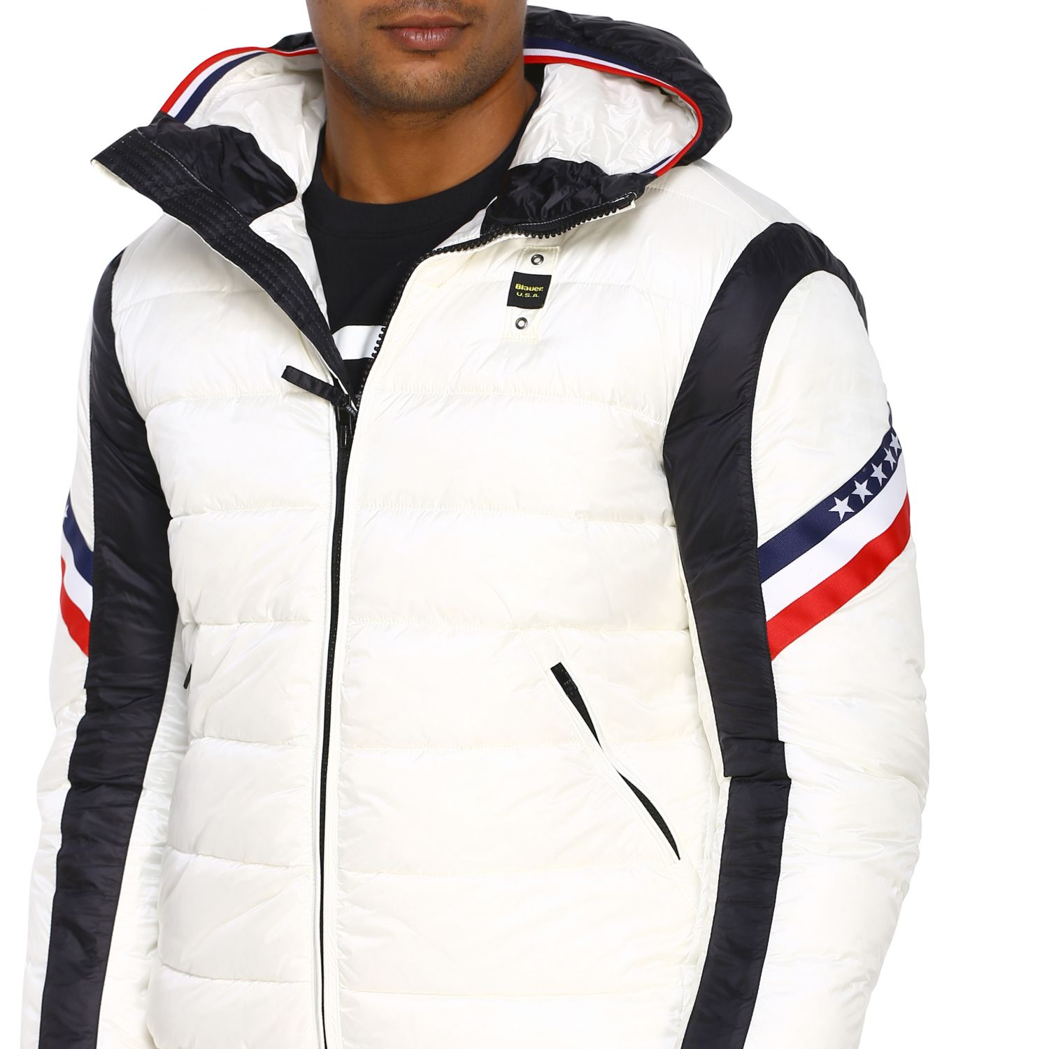 Jacket men Blauer white 5