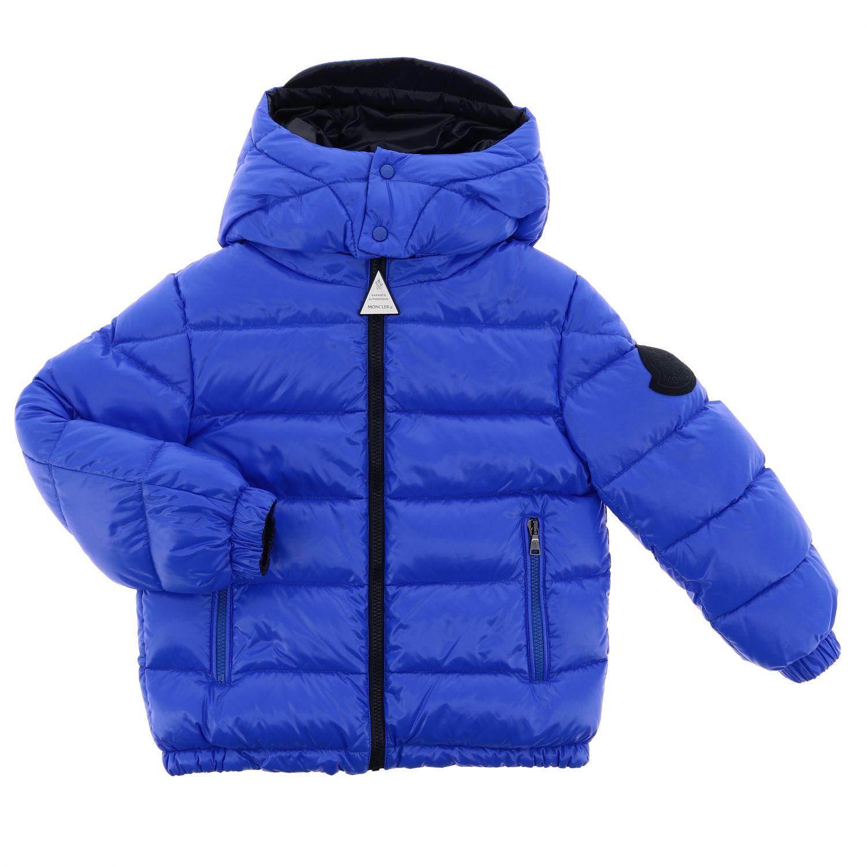 Пальто Детское Moncler синий 1